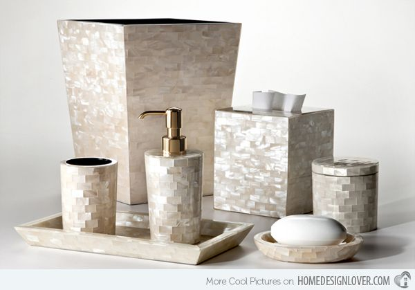 15 Luxury Bathroom Accessories Set | For the Home | Bathroom