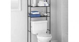 Mainstays 3-Shelf Bathroom Space Saver, Oil Rubbed Bronze (Oil Rubbed  Bronze)