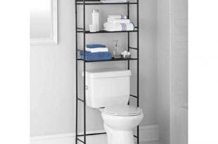 Mainstays 3-Shelf Bathroom Space Saver, Oil Rubbed Bronze (Oil Rubbed  Bronze)