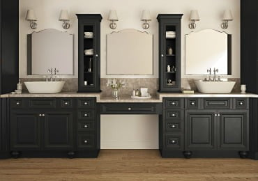 Ready To Assemble & Pre-Assembled Bathroom Vanities & Cabinets - The