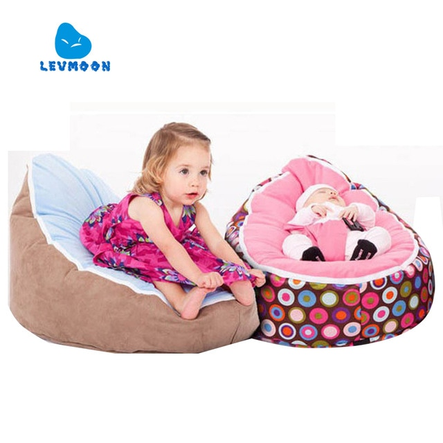 Levmoon Medium Bean Bag Chair Kids Bed For Sleeping Portable Folding