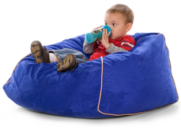 Jaxx Club Jr. Kids Bean Bag Chair - Free Shipping