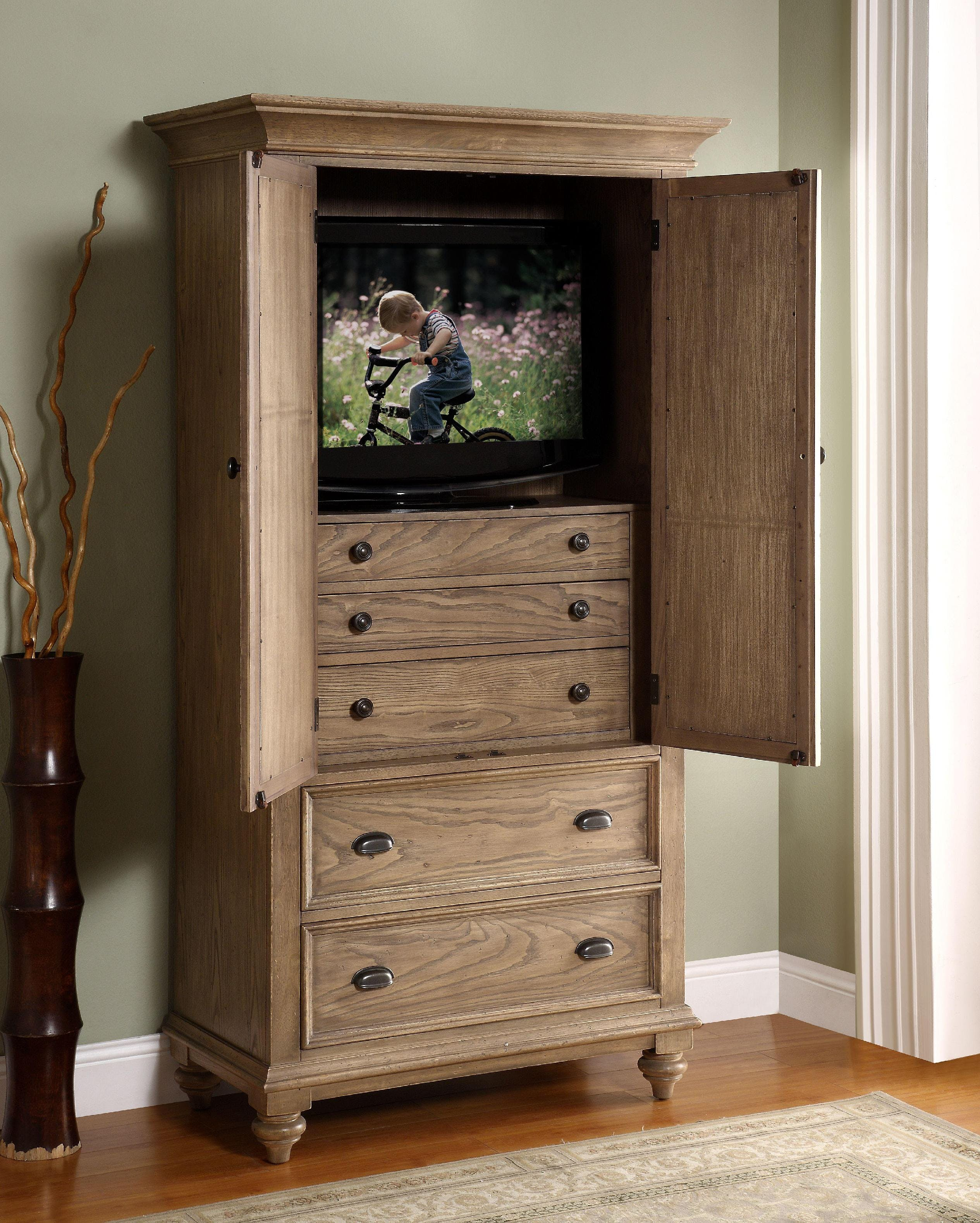Riverside Bedroom Armoire 32463 - Carol House Furniture - Maryland