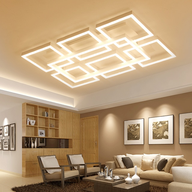 led ceiling light Living room light simple modern atmosphere home
