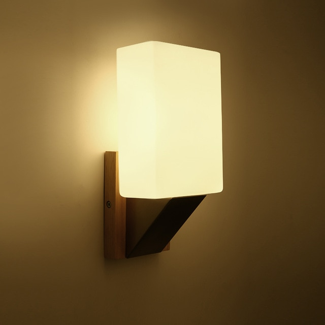 Modern brief bedroom read wall lamps Simple wall lamp Bedroom Dining