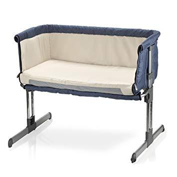 Amazon.com : MiClassic Bedside Crib Travel Bassinet Easy Folding