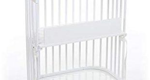 Amazon.com : babybay Bedside Sleeper (Pure White Finish) : Baby