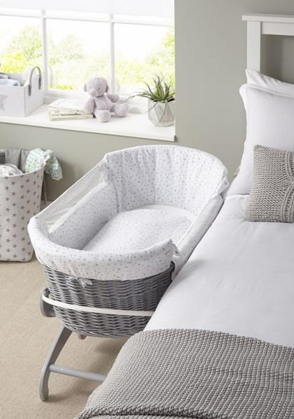 Clair de Lune Bedside Crib