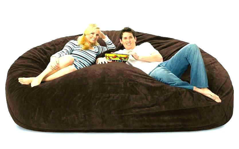 Fuf Bean Bag Sofa Oversized Bean Bag Couch Dubious Co Home Design