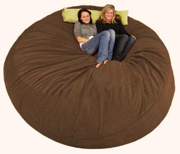 Bay Isle Home Breton Bean Bag Lounger Size: 8', Upholstery: Corduroy
