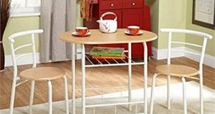 Amazon.com - Bistro Set - 3 Piece - For Small Space in Kitchen