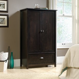 Black Armoire Can Add Texture to Your   Bedroom