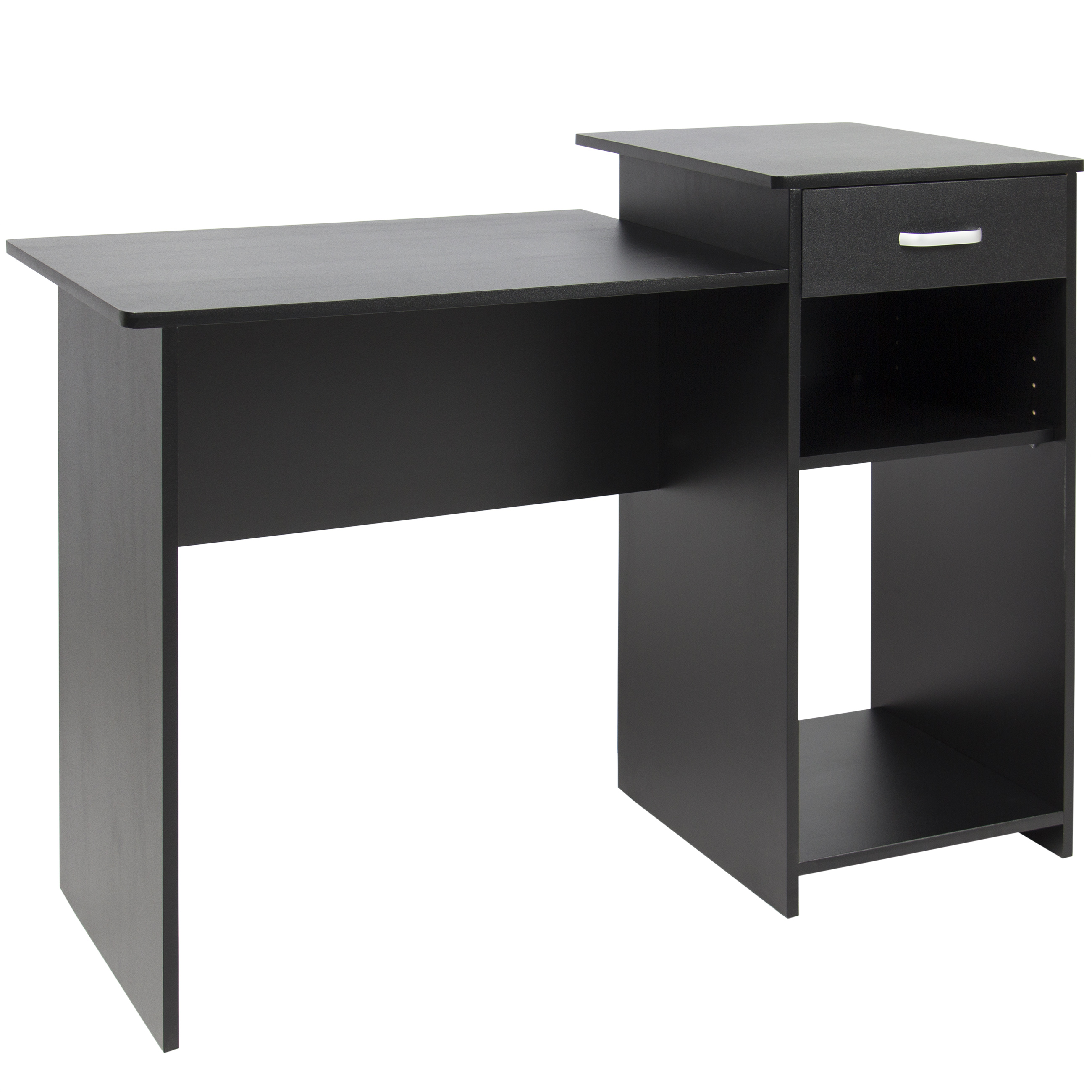 Best Choice Products Wood Computer Desk Workstation Table for Home