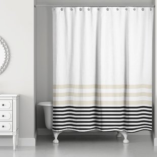 Black Shower Curtains You'll Love | Wayfair