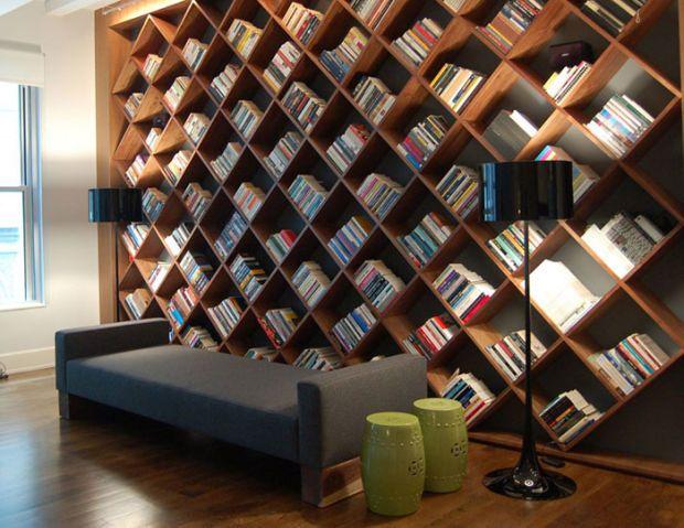 The 22 Most Creative Bookshelf Designs Ever | Shelves | Pinterest