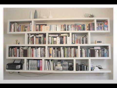 Bookshelves | Bookshelf | Bookshelves Design - YouTube