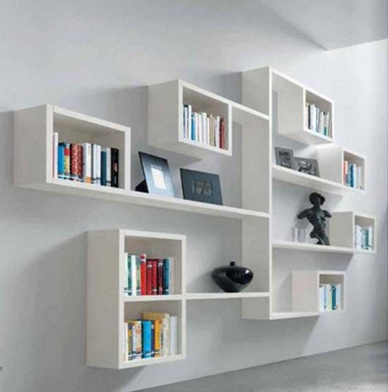 26 Of The Most Creative Bookshelves Designs | Time to find our new