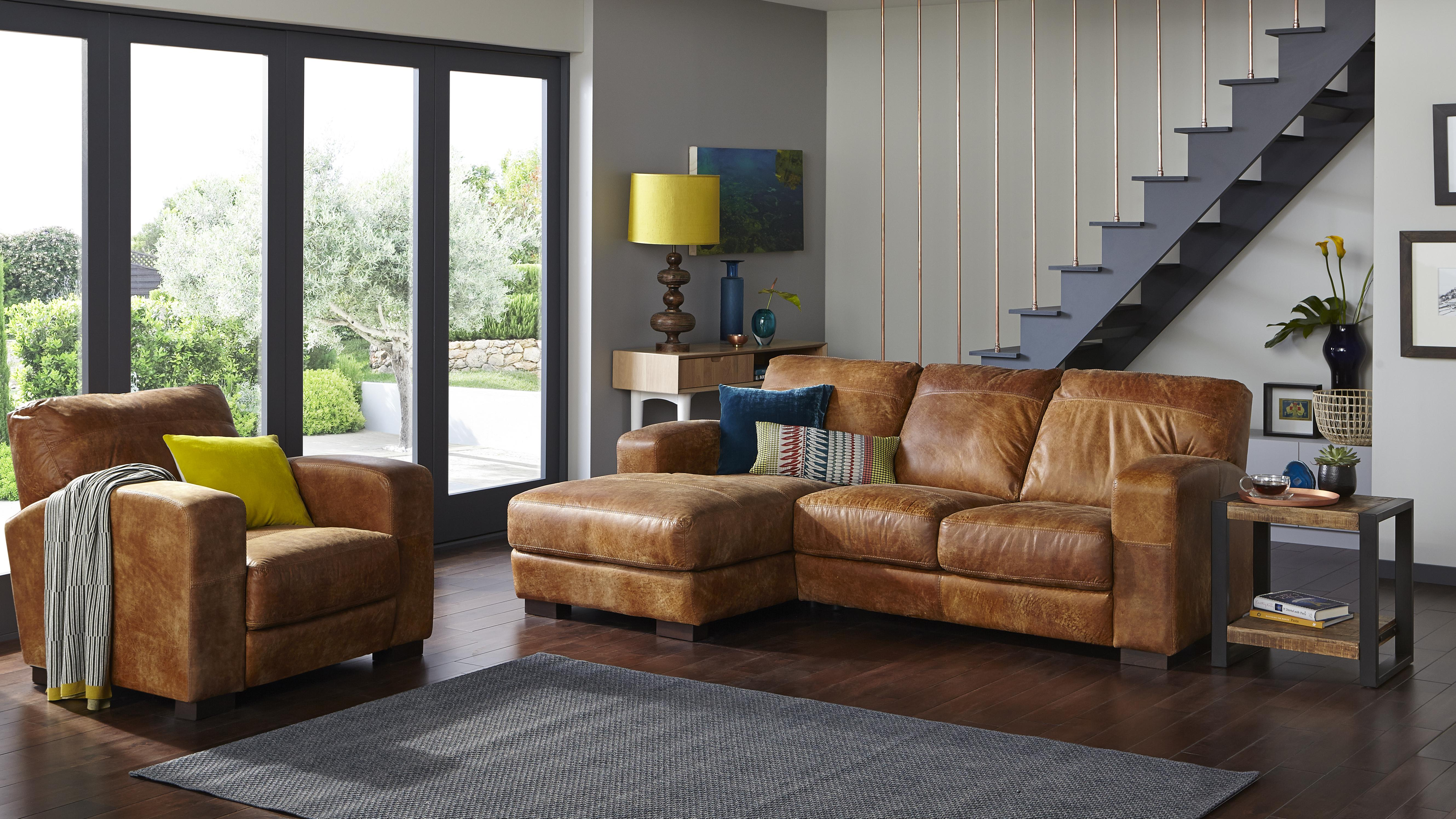 Brown Sofas | DFS