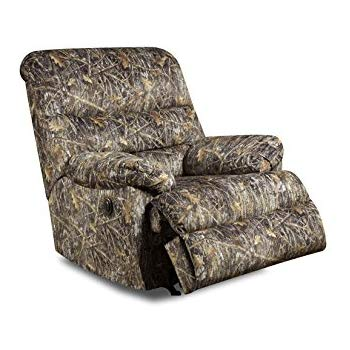 Amazon.com: Simmons Upholstery Conceal Camo Power Rocker Recliner