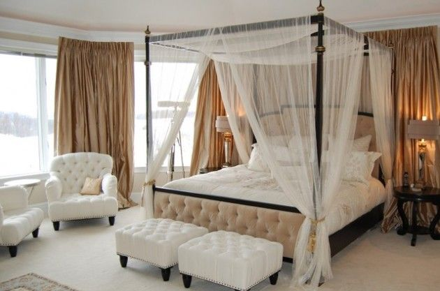 34 Dream Romantic Bedrooms With Canopy Beds | Home | Bedroom