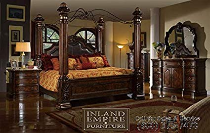 Amazon.com: Inland Empire Furniture Giana Eastern King Adult Canopy