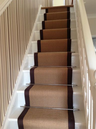 stair carpets with borders - Google Search | Jute Carpets