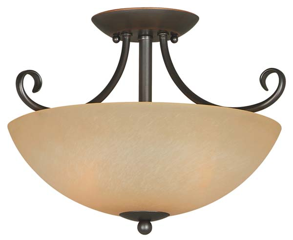 Hardware House 543769 Berkshire 14-1/2-Inch by 10-Inch Ceiling Light