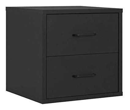 Amazon.com: Two-Drawer Chest Wood Closet Deep Storage Chester Drawer