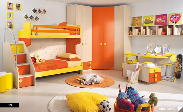 Younger children bedroom accessories - Decorating ideas