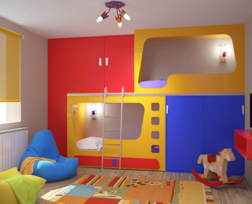 Bad & Good Feng Shui for Children: Bedroom Colors | Open Spaces Feng