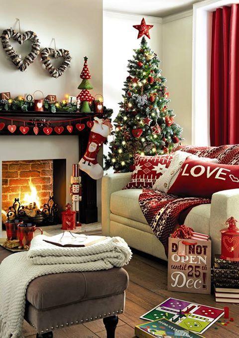 Home Decoration: How to Make a Christmas Living Room | Christmas
