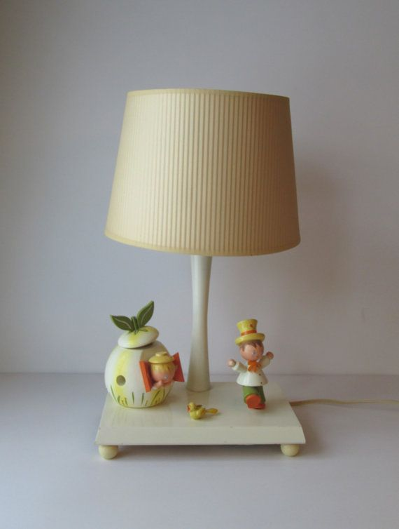 Vintage Irmi Childrens Lamp | Retro Etsy Vintage Kiddo Decor