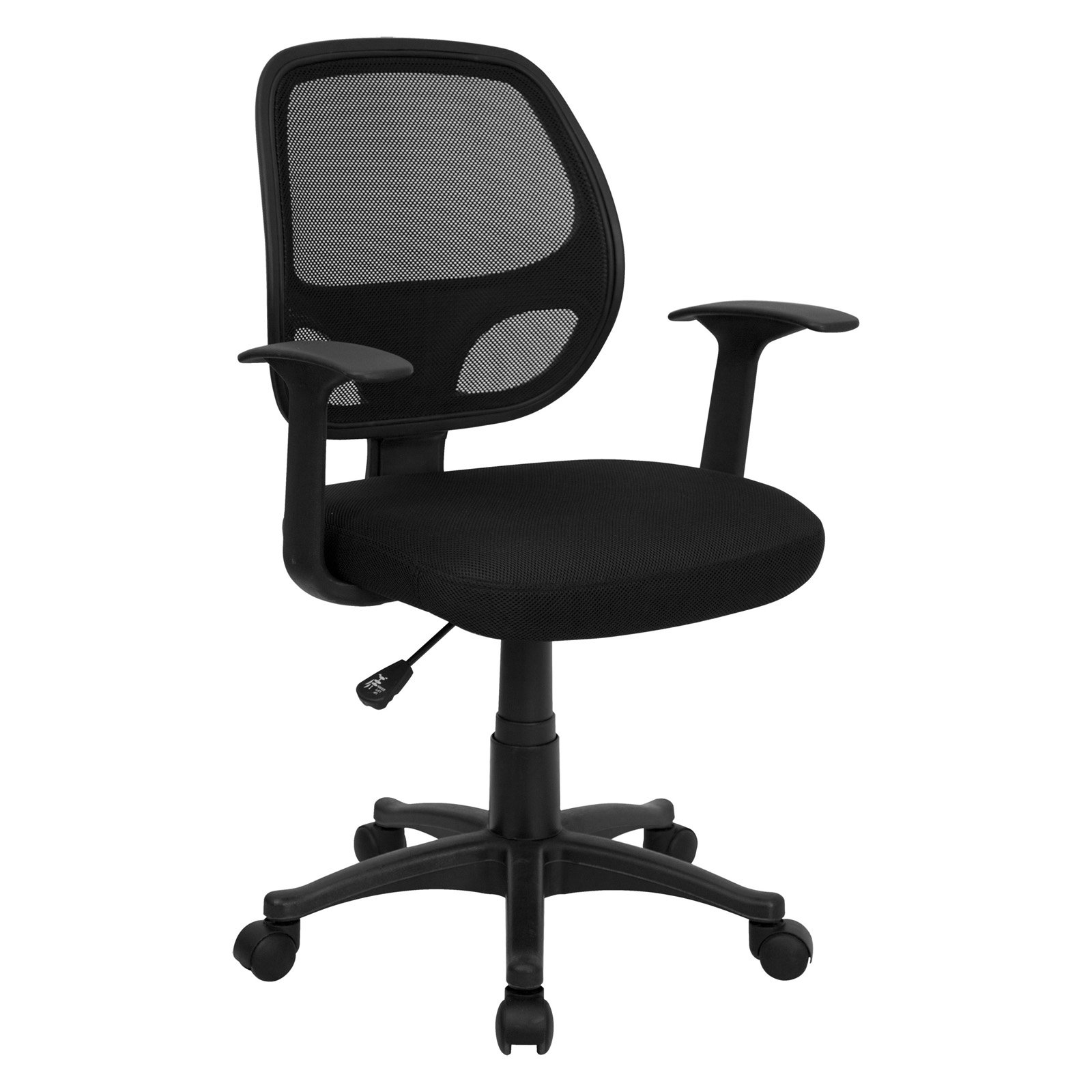 (Set of 8) Flash Furniture Mesh Back Computer Chair, Black - Walmart