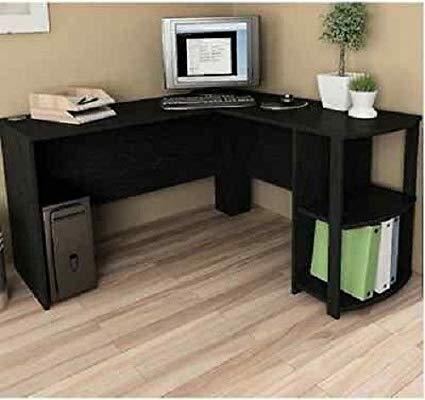 Amazon.com: Computer Corner Desk L-Shaped Workstation Home Office