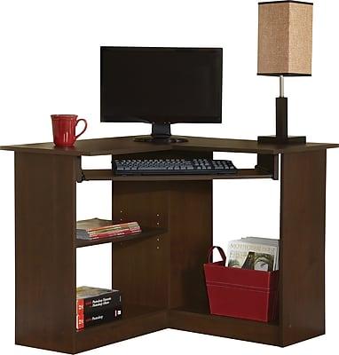 Easy2Go Corner Computer Desk, Resort Cherry | Staples