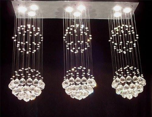 Modern Contemporary Chandelier Triple