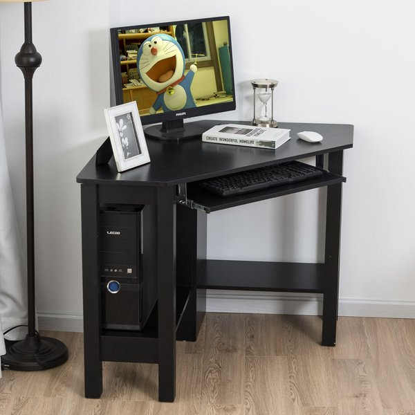 Winston Porter Kessler Corner Computer Desk & Reviews | Wayfair