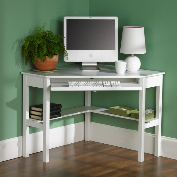Wildon Home ® Corina Corner Computer Desk & Reviews | Wayfair