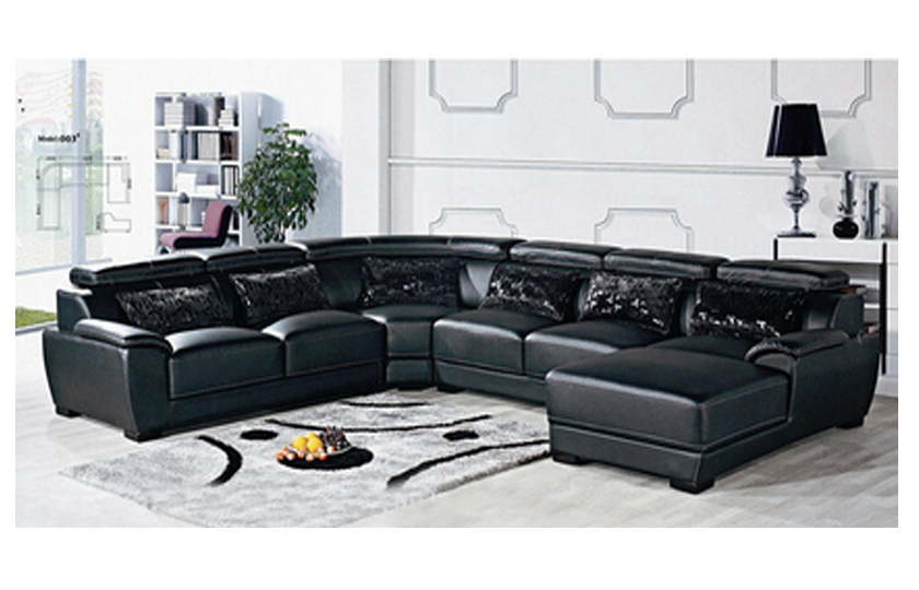 Creative of Corner Leather Sofa Branst Corner Leather Sofa Comfyland