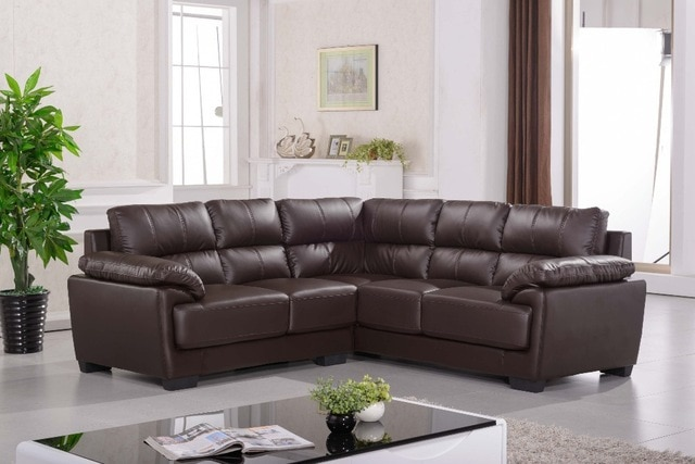 Corner Leather Sofa Corner Sofas-in Living Room Sofas from Furniture