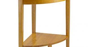 Amazon.com: Winsome Wood Corner Desk with Shelf, Honey: Kitchen & Dining