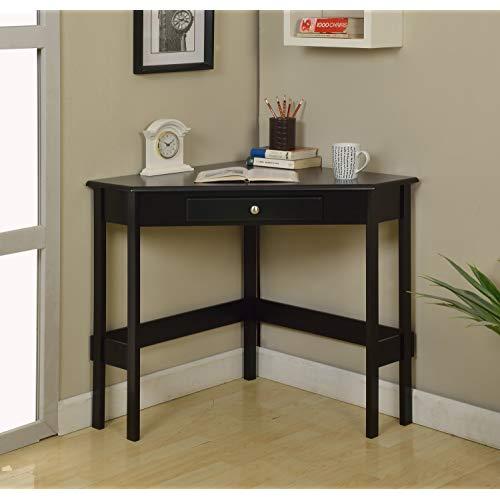 Corner Table Black: Amazon.com