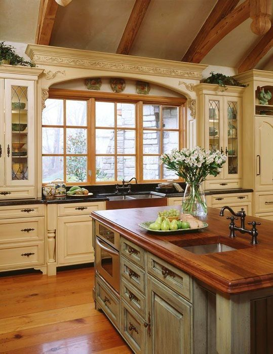 20 Ways to Create a French Country Kitchen | Kitchen | Country