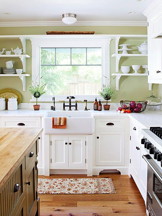 25+ Beautiful Country Kitchens to Copy ASAP | Delightful Kitchen