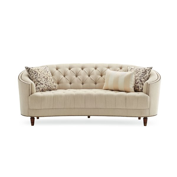 Darby Home Co Frederic Tufted Curved Sofa & Reviews | Wayfair