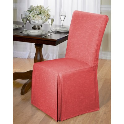 Chambray Dining Room Chair Slipcover - Madison Industries : Target