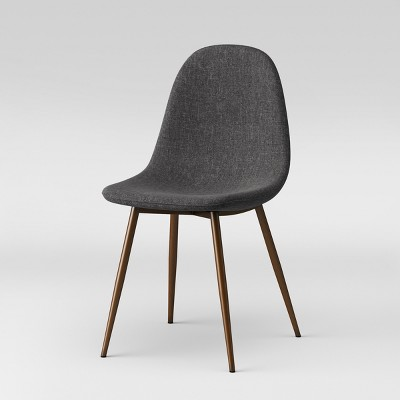 Copley Upholstered Dining Chair Dark Gray - Project 62™ : Target