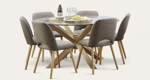 Miles 7 Piece Round Dining Tables and Chairs | Focus on Furniture