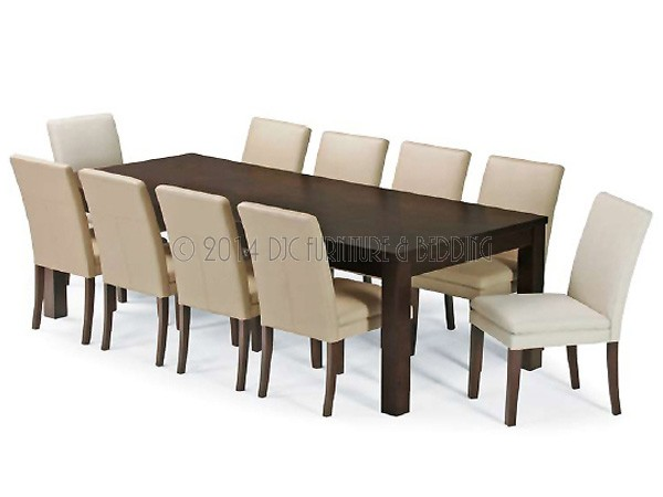 Savoy 11 Piece Hardwood Dining 2.4m - Dining Suites - Dining Room