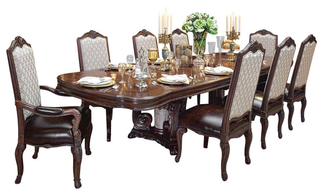 Victoria Palace 10-Piece Dining Table Set - Victorian - Dining Sets